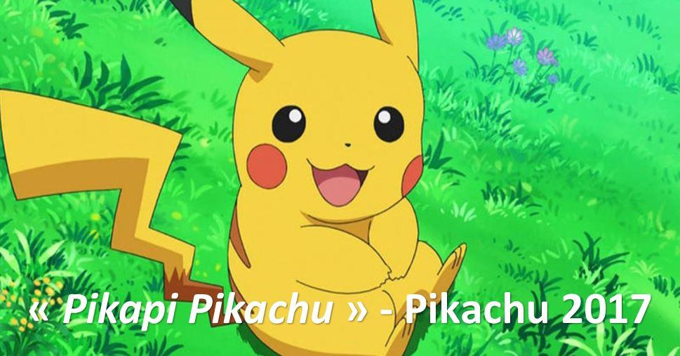 Pikachu 2017