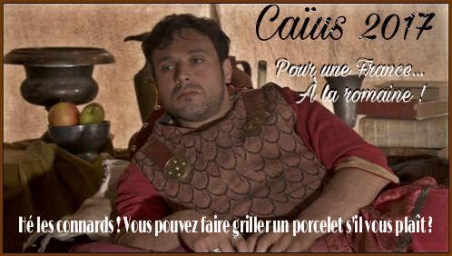Caïus président Kaamelott