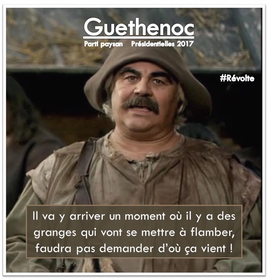 Guethenoc président Kaamelott