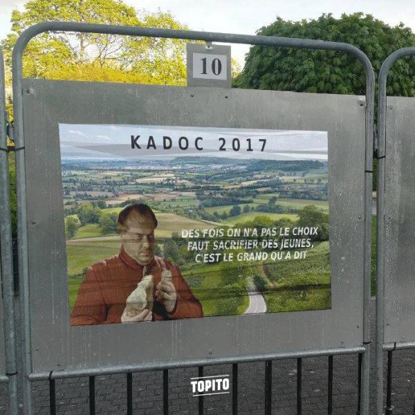 Kadoc président Kaamelott