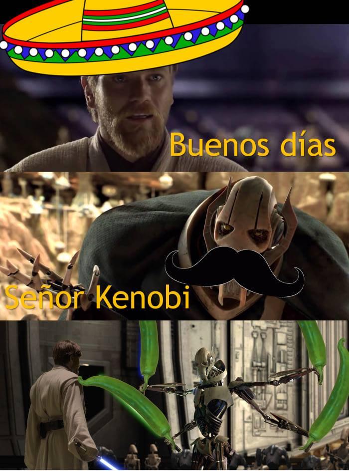Grievous Obi-Wan meme