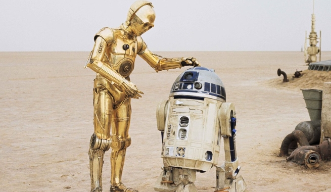 C3PO et R2D2