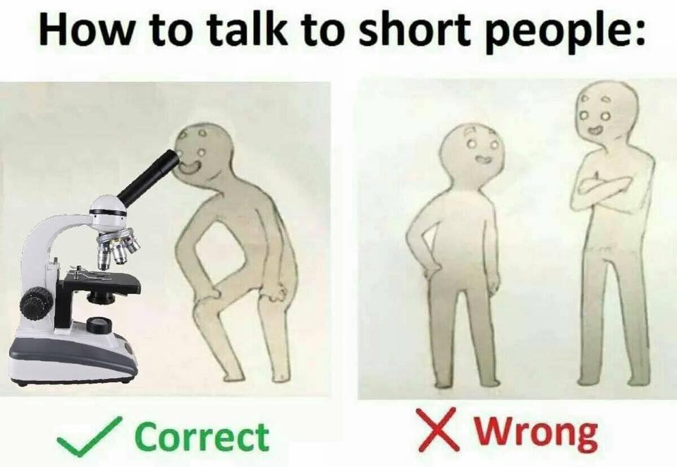 Comment parler aux petites personnes meme