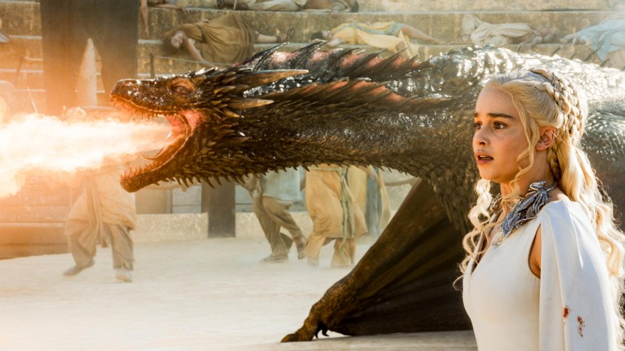 Daenerys Drogon Dragon Game of Thrones