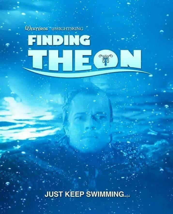 Finding Theon Game of Thrones season 7 meme