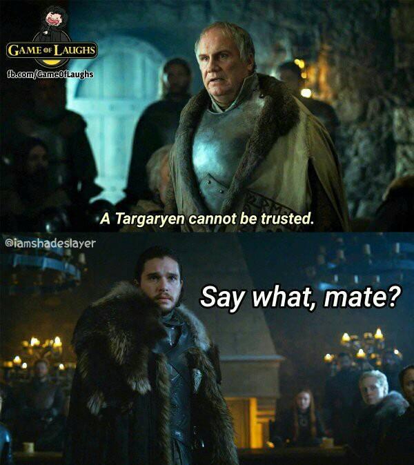 Game of thrones season 7 meme jon snow