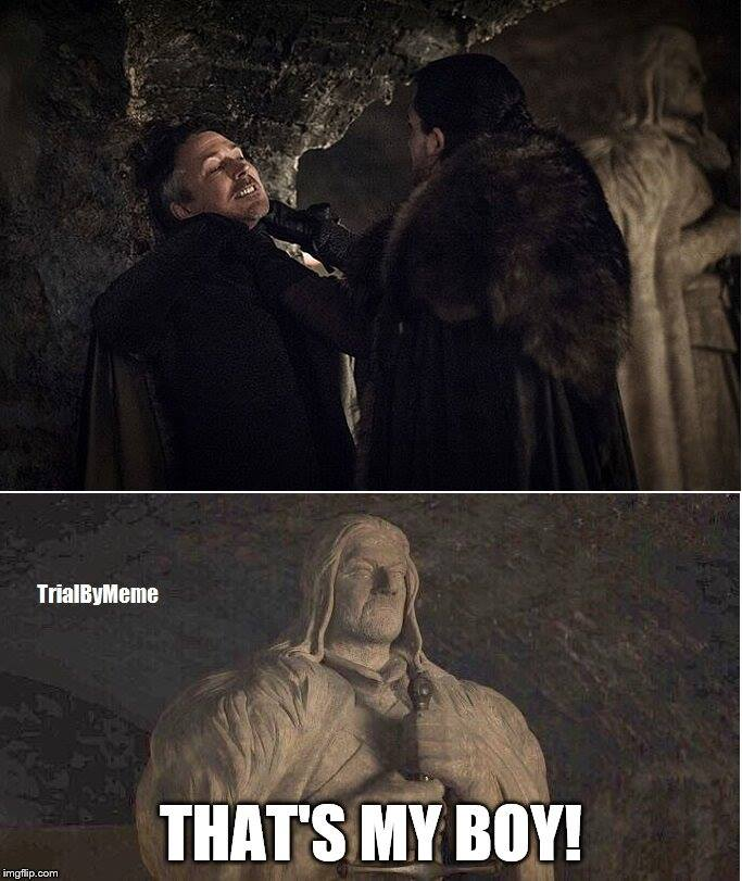 Game of thrones season 7 meme jon snow
