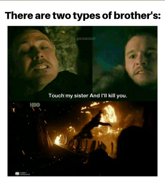 Game of thrones season 7 meme jon snow theon