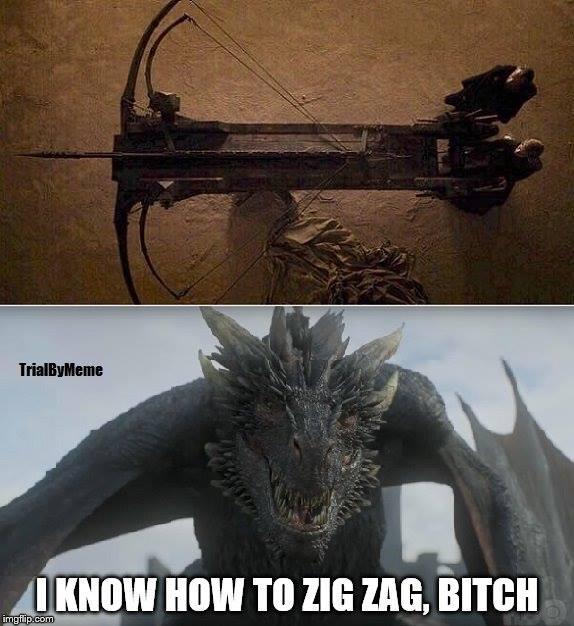 Game of Thrones season 7 meme dragon