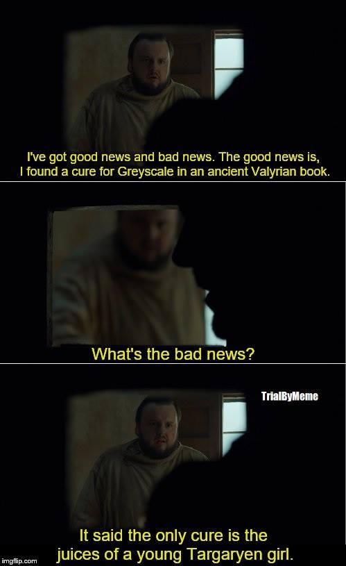 Samwell Tarly Game of Thrones meme