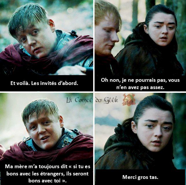 Arya Stark meme
