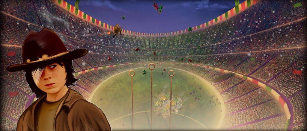 Carl The Walking Dead Quidditch