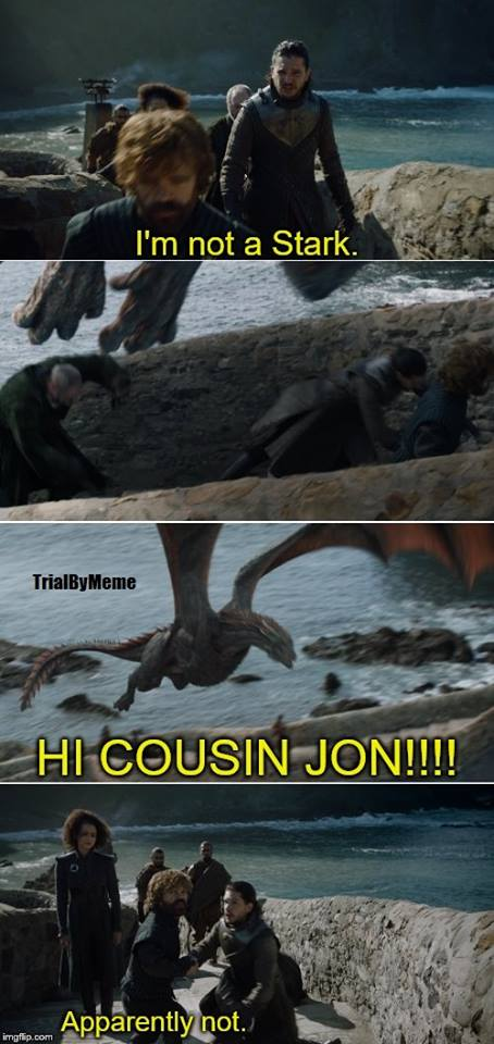 dragon jon snow meme