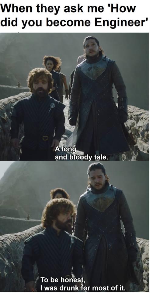 Tyrion Lannister Jon Snow meme