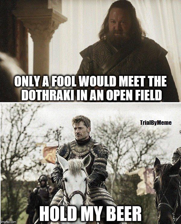 Baratheon Robert Lannister Jaime meme