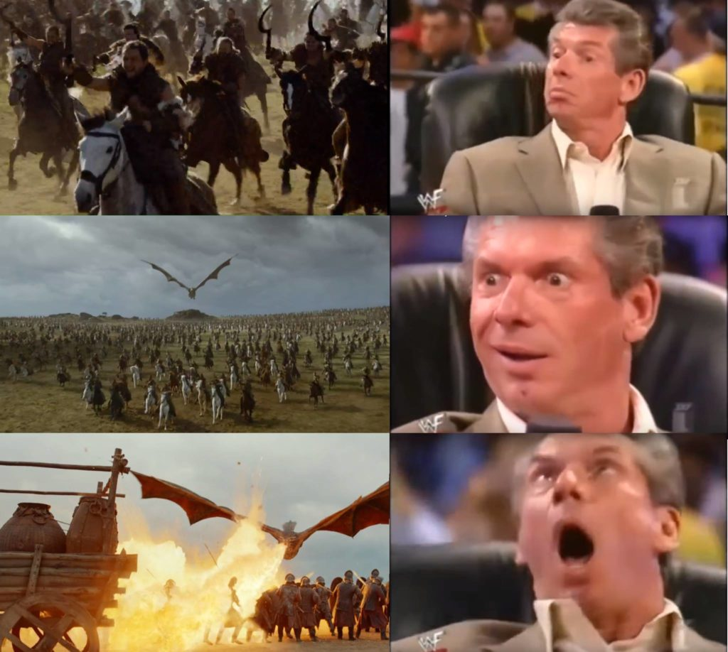 Drogon Game of Thrones meme