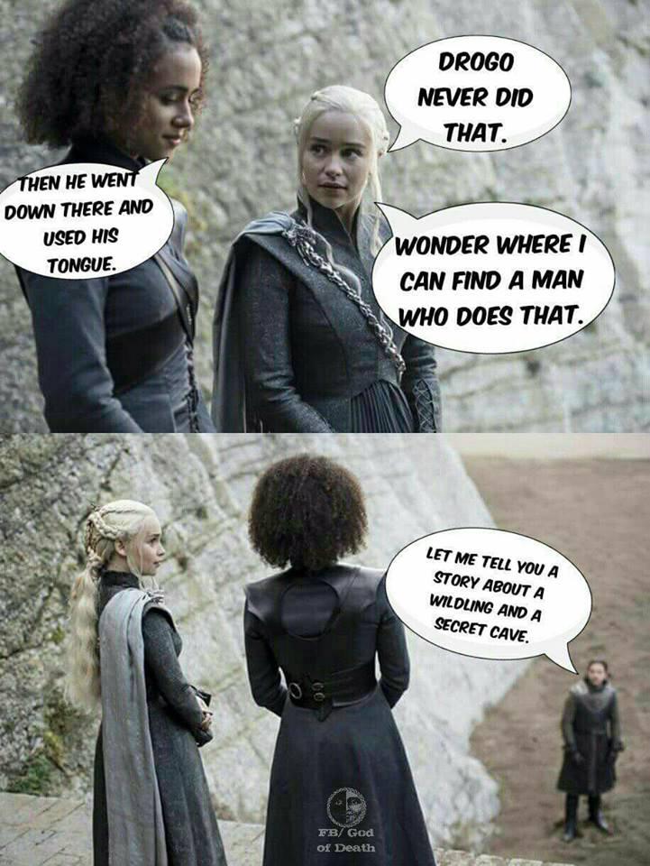 Daenerys Missandei meme
