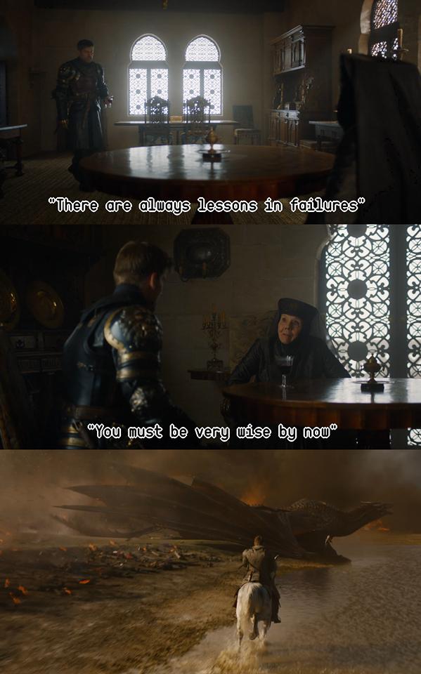 jaime line olenna dragon meme