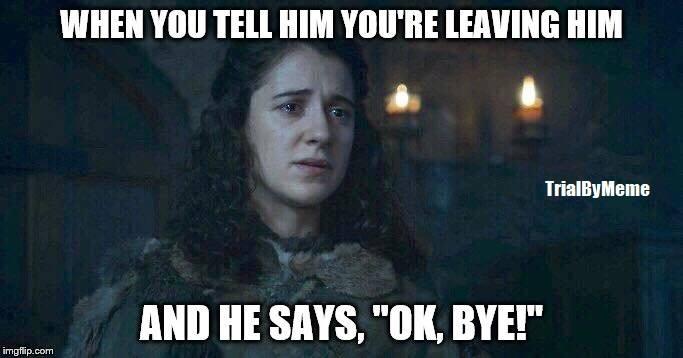 Meera meme Game of Thrones Saison 7