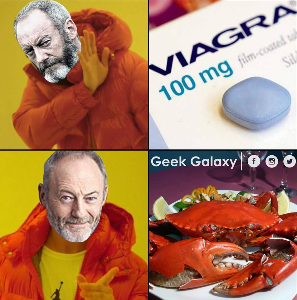 Davos Viagra Crabe meme