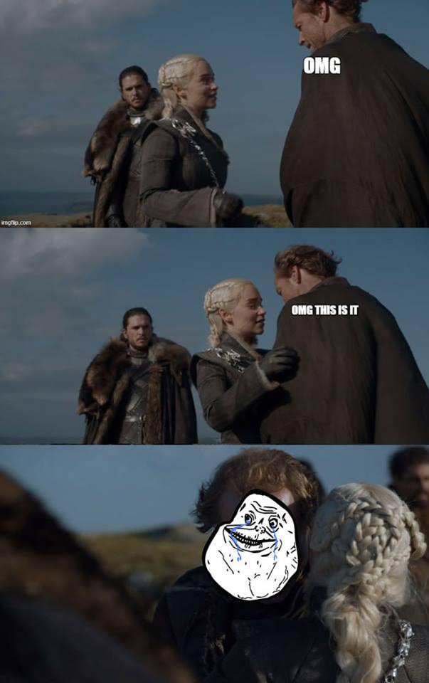 Daenerys Jorah friendzone meme