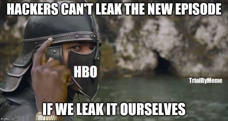 HBO meme leaked episode