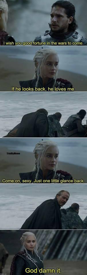 Daenerys Jorah Jon Game of Thrones meme