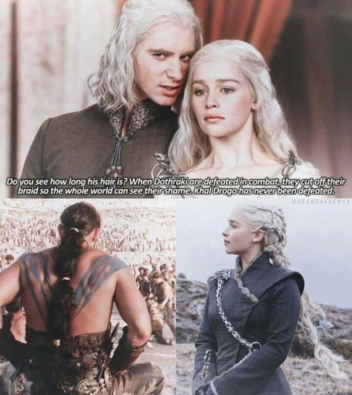 Drogo Daenerys meme