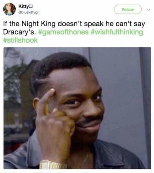 Night King Dracarys meme