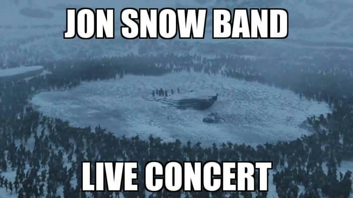 Jon Snow Live Concert The North