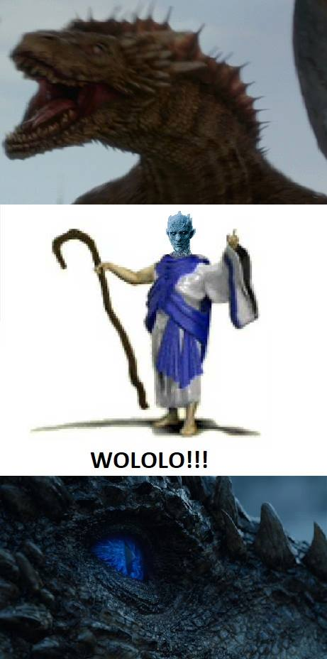 Viserion age of empire wololo night king