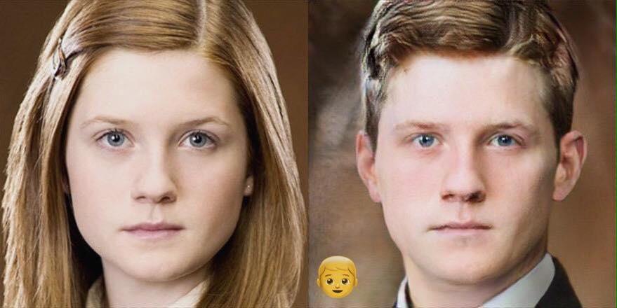 Ginny Weasley Homme