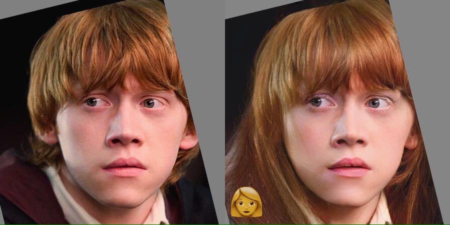 Ronald Weasley Femme