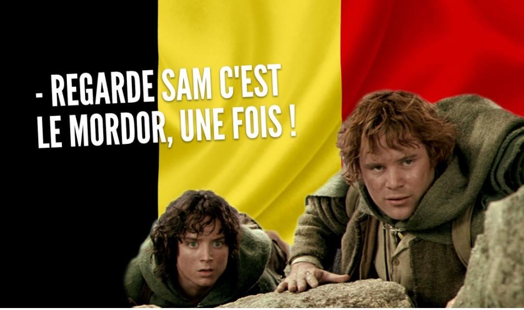 Sam Frodon belges meme