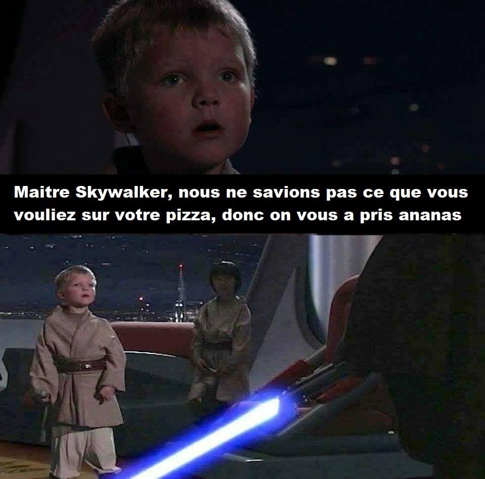 padawans skywalker star wars pizza