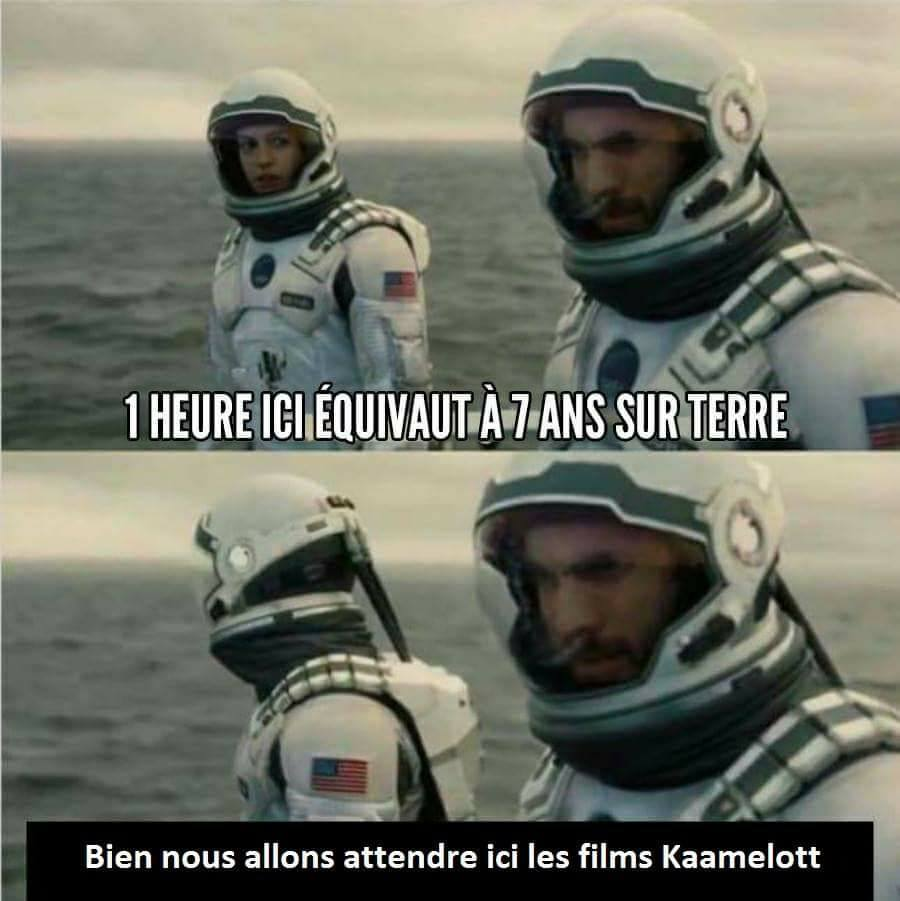 Kaamelott films interstellar meme humour