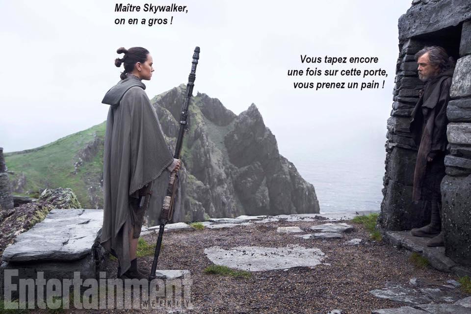 Skywalker Rey Star Wars Kaamelott meme