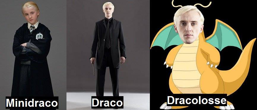 Meme Harry Potter Pokémon Draco
