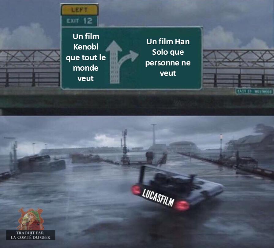 star wars meme spin off lucasfilm