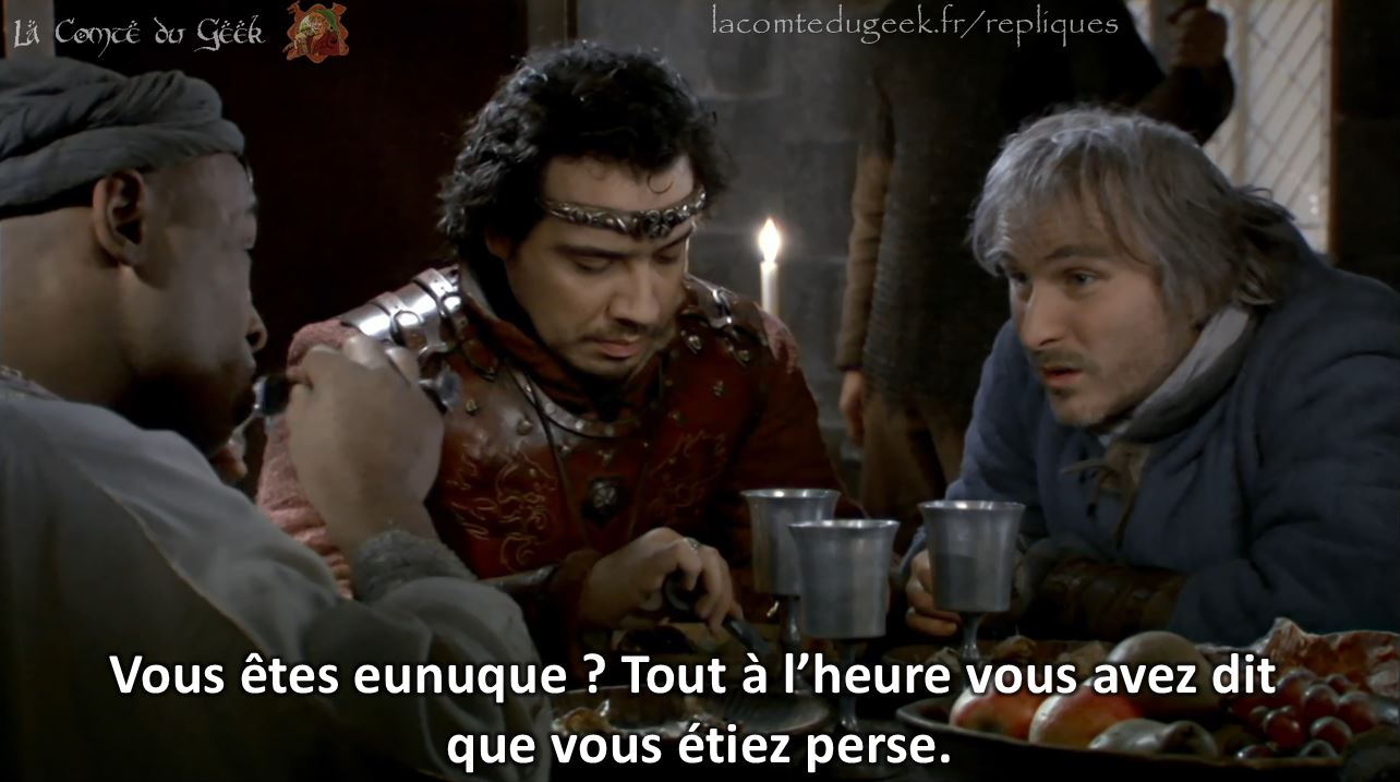 kaamelott perceval eunuque perse