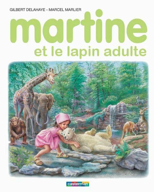 Martine Kaamelott humour lapin adulte
