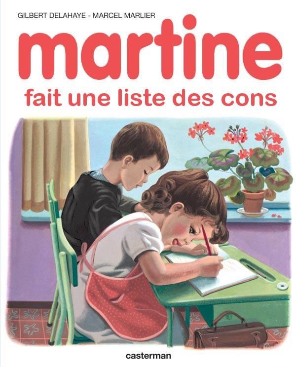 Martine Kaamelott humour liste des cons