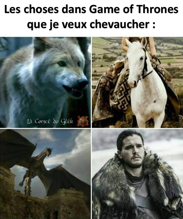 Game of Thrones Humour Sexe