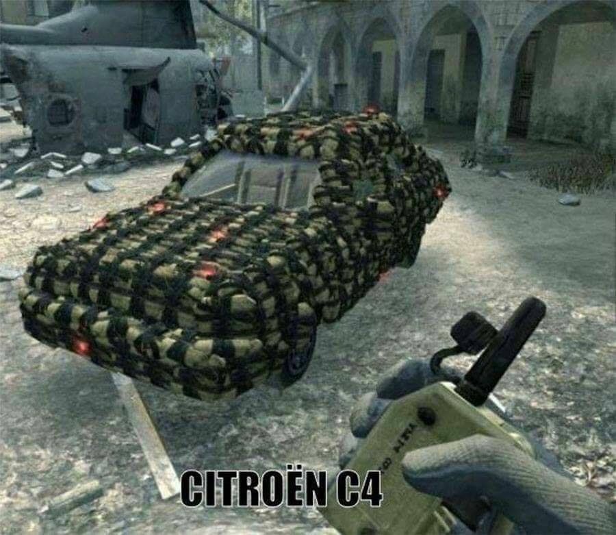 counter strike fps meme citroen c4