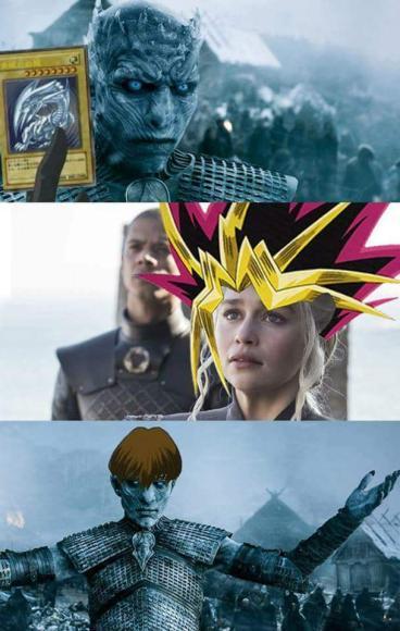 game of thrones yu gi oh meme