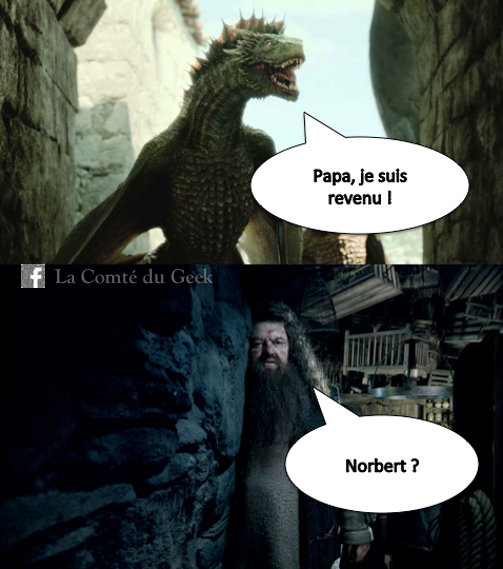 hagrid dragons game of thrones