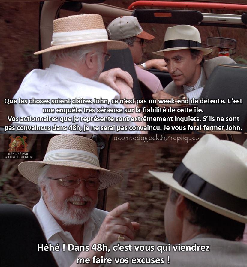 jurassic park avocat gennaro hammond