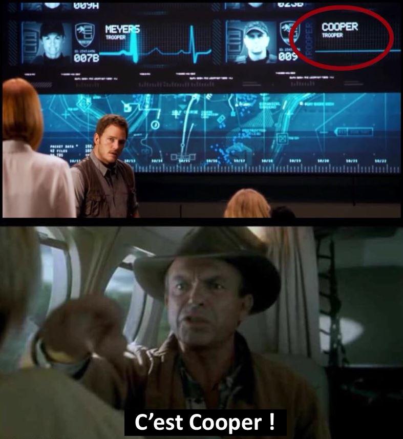 Jurassic Park Jurassic World humour meme Cooper