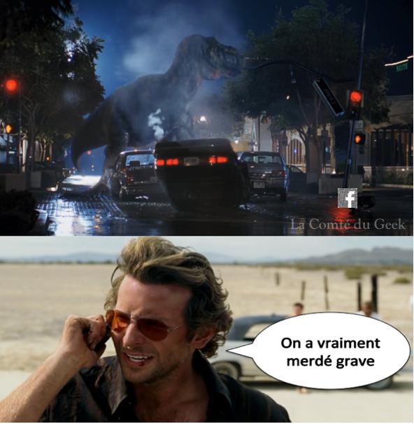 jurassic park crossover very bad trip meme