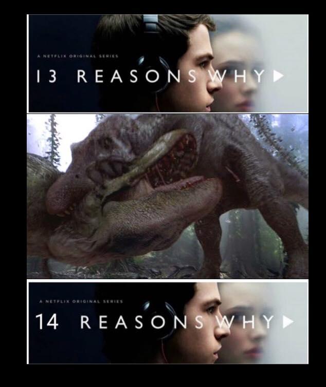 Jurassic Park meme 14 reasons why